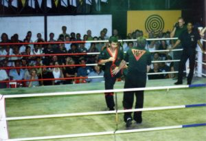 Thaibox Stadion Thailand 23.2.1997 003