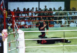 Thaibox Stadion Thailand 23.2.1997 005