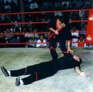 Thaibox Stadion Thailand 23.2.1997 013