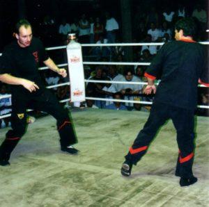 Thaibox Stadion Thailand 23.2.1997 055