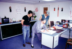 HongKong 1995 Master Tassos Professor Chu GM Leung Ting