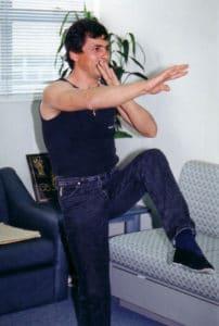 HongKong 1995 Master Tassos beim Unterricht 2