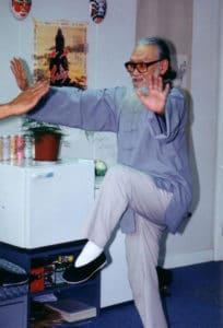 HongKong 1995 Master Tassos beim Unterricht 3