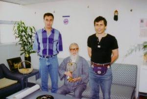 HongKong 1995 Mike Professor Chu Master Tassos 8