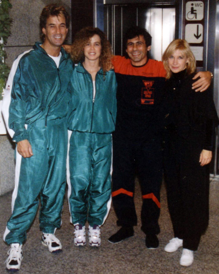 Cynthia Rothrock- Master Tassos- Kathy Long und Richard Norton