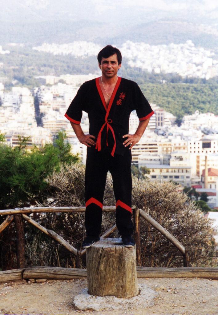 Wing Tsun Master Tassos - Athen 1999